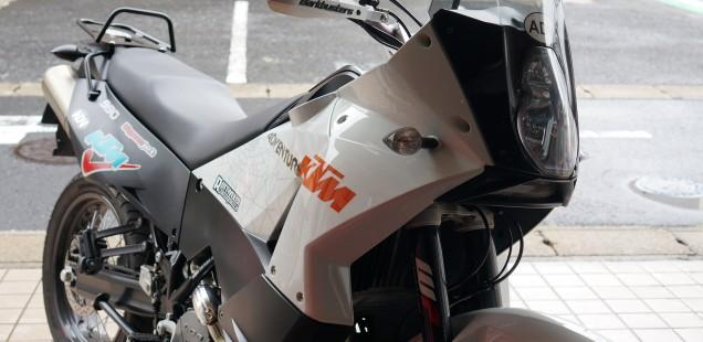 KTM990アドベンチャー ハーレーXL883 車検依頼