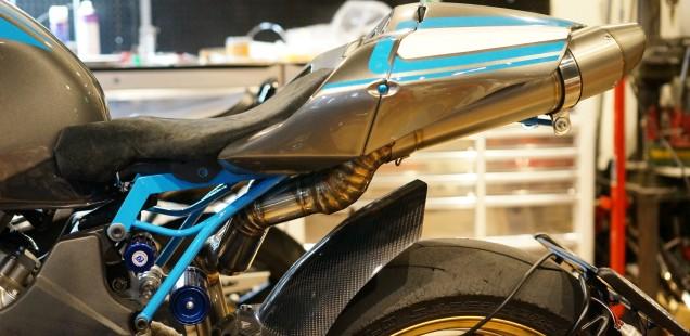 もうすぐ完成するかな フルカスタムバイク