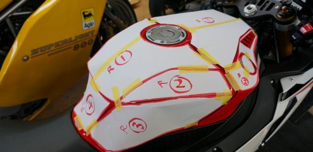 2015 YZF R1 フィルムガードシステム ガラスコーティング M 千葉県 松戸市 バイク CR-1