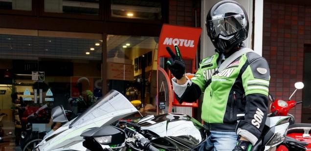 カワサキ ninja H2 フィルムガードシステム 施工完了 バイク ガラスコーティング フィルムコーティング 千葉県 松戸市 東京都 埼玉県 神奈川県 茨城県 関東