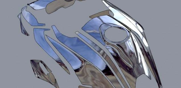 バイク フィルムコーティング 3Dデジタル採寸 BMWR1200GS ガラスコーティング フィルムガードシステム ペイントプロテクションフィルム 千葉県 東京都 神奈川県