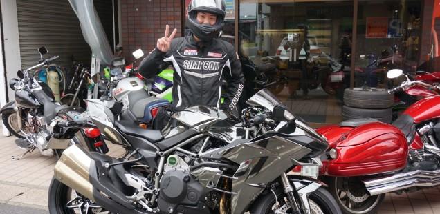 2016 kawasaki ninja H2 バイク ガラスコーティング フィルムコーティング ペイントプロテクションフィルム PPF 千葉県 東京都 神奈川県