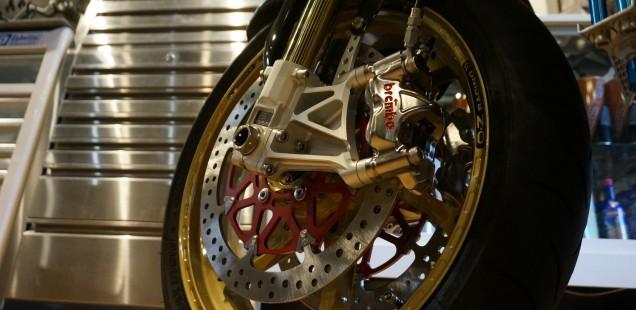 ZRX1200DAEG ダエグ 倒立フォークセパハンカスタム バイク ガラスコーティング アルミ バフ 千葉県 東京都 神奈川県