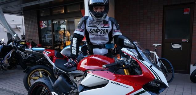 ドカティ パニガーレ 1199 バイク ガラスコーティング 東京都 千葉県 神奈川県 CR-1 PPF ペイントプロテクション