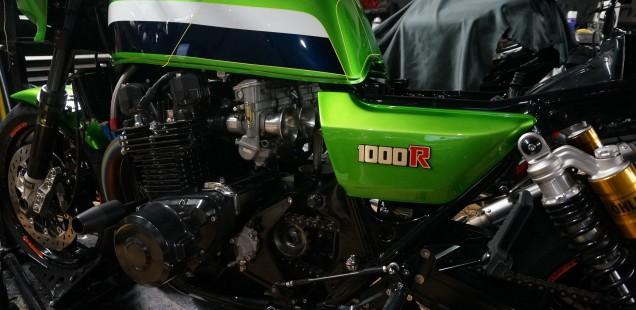 Z1000R バイク ガラスコーティング フィルムコーティング 千葉県 松戸市 東京都 神奈川県 CR-1