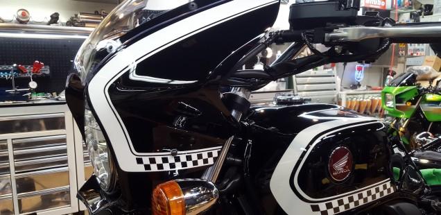 CB1100 バイク ガラスコーティング フィルム施工 千葉県 埼玉県 神奈川県 東京都