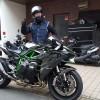 ninja H2 フィルムコーティング バイク ガラスコーティングPPF ペイントプロテクションフィルム CR-1 千葉県 埼玉県 東京都