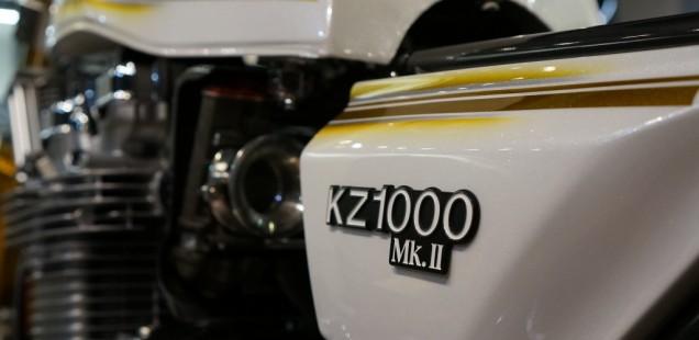KZ1000 MKⅡ ガラスコーティング